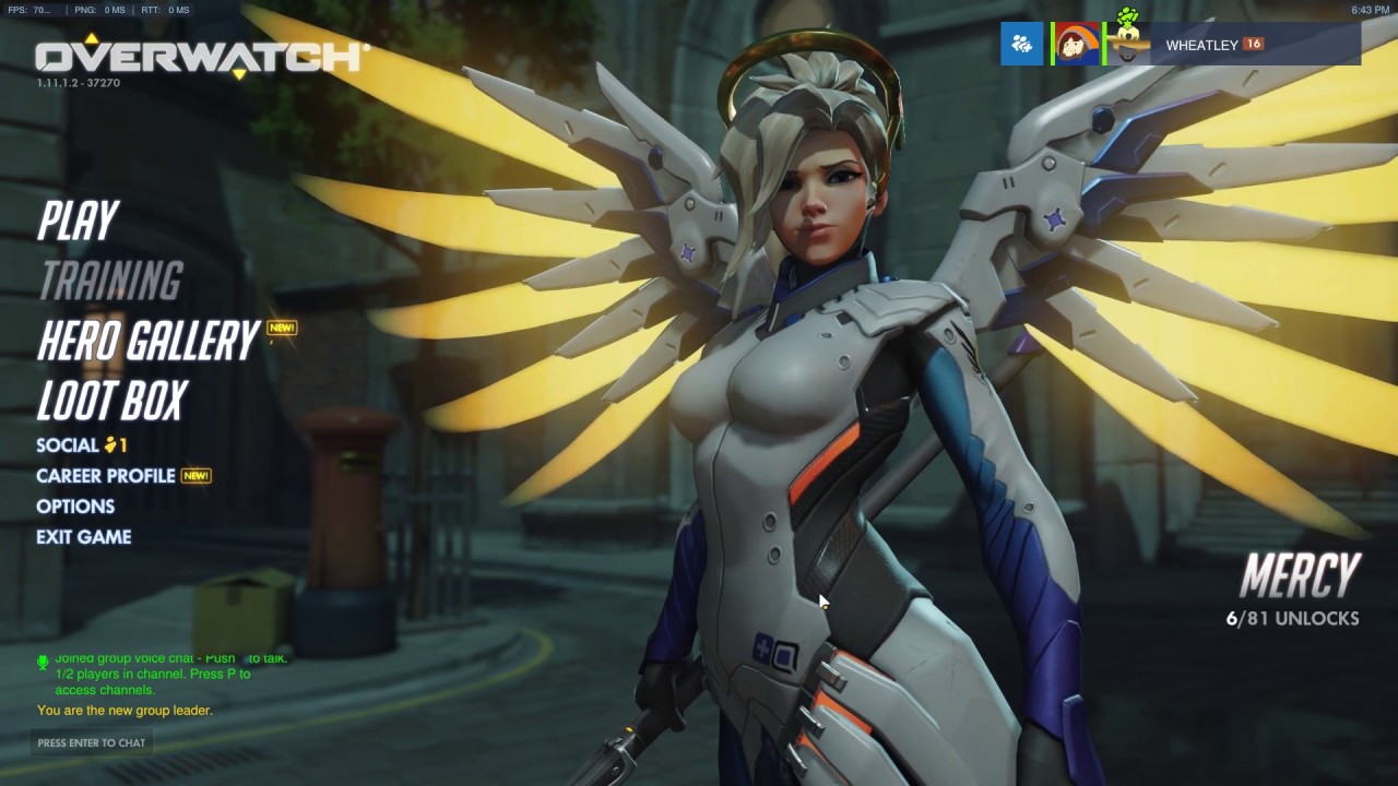 Overwatch กะ ช เชฟ [VPN by PingBooster]