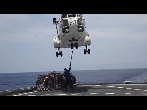 Military Sealift Command • Trilateral Replenishment At Sea
