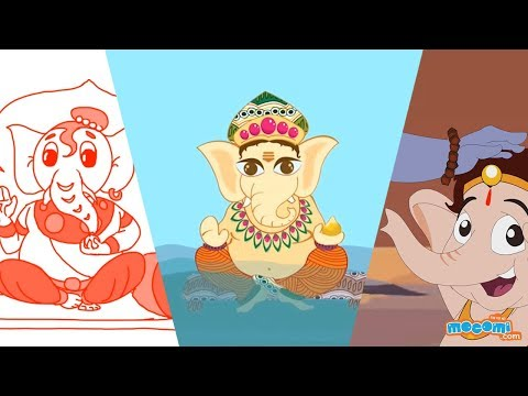 Lord Ganesha Story Videos for Kids | Kids Education by Mocomi