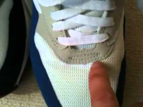 outlet store 73d9b 99fc0 How to spot FAKE Nike Air Max shoes  sneakers  kicks  traine