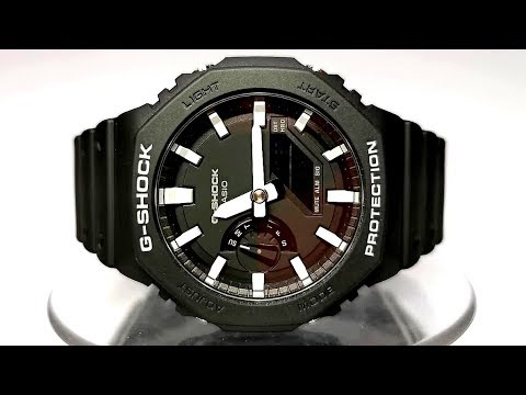 Casio G-SHOCK GA-2100-1 Module 5611 Carbon Core Guard Watch 2019