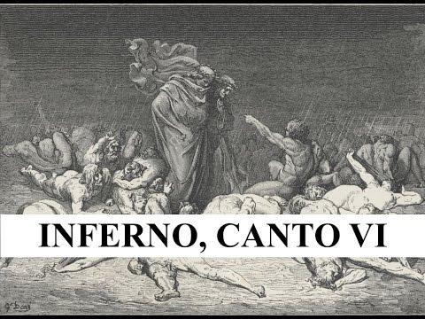 The Divine Comedy in 2 minutes - Inferno, Canto VI