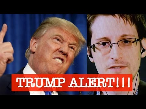 Edward Snowden || Live Stream || Trump and privacy || November 10
