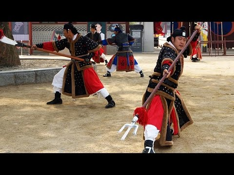 Traditional Korean weapons: Joseon Martial Arts
