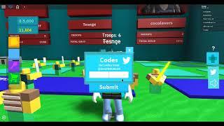Roblox Army Control Simulator Codes 2019