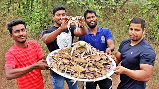 SEA TOMATO CRAB FRY | cooking delicious crabs meat | Rangers cooking show |