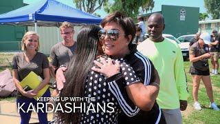 KUWTK | Kris Jenner Helps to Restore Watts Community Center | E!