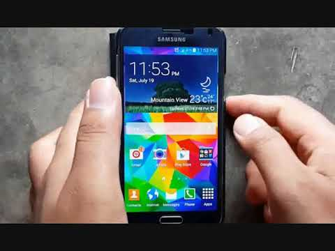 Samsung Galaxy S5 : How to Cancel Alarm (Android Phone)