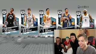 MY GREATEST PACK OPENING OF ALL TIME  *7 DIAMOND PULLS*  NBA 2K17 DEVIN BOOKER