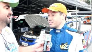 Leonardo Zettel   Após SS3   Rally Vale do Paraíba 2016