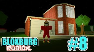 ROBLOX | CONSTRUCTION OF FIRE STATION HAS A GARAGE FOR CAR | Welcome to Bloxburg #8