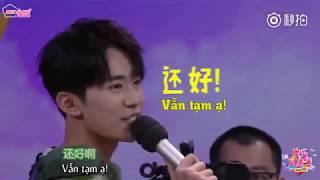 [Vietsub/Cut Happy Camp] Cây bông nhà họ Dịch