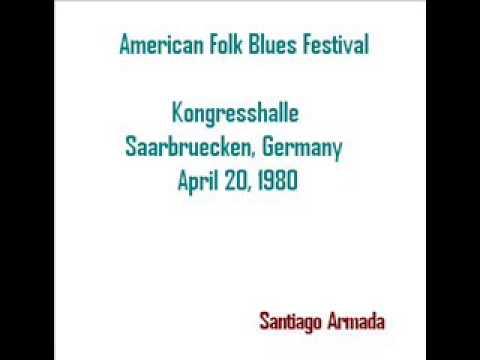 American Folk Blues Festival  Kongresshalle  Saarbruecken, Germany 1980