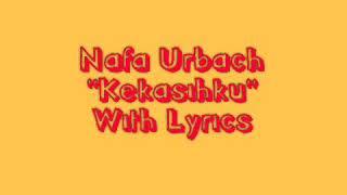 Download Nafa Urbach - Kekasihku (Official Video Lyric)