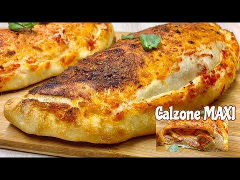 calzone-maxi-al-forno-🍕-ricetta-facile-🍕-stuffed-calzone-pizza