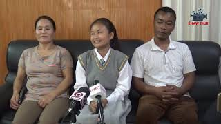 HSLC Topper 2019, Lalrinnungi Interview