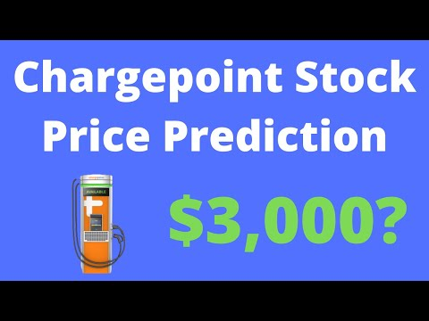Why Chargepoint CHPT Stock Will Soar After Merger! $3,000 Price Target Prediction