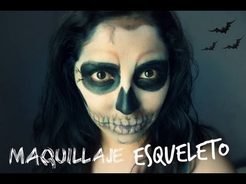 maquillaje de esqueleto para halloween skeleton makeup tutorial youtube