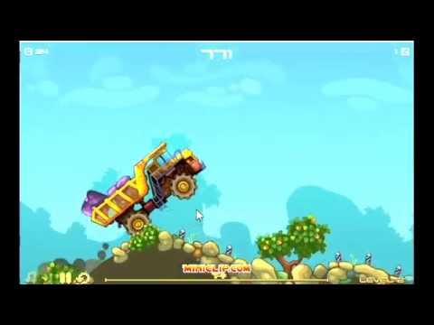 Awesome Miniclip Game Mining Truck