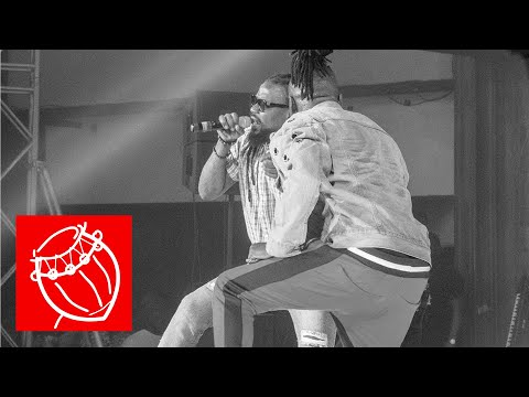 """Stonebwoy & Samini """"Father and Son"""" Moment at the Bhim Concert"""