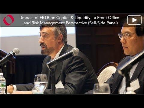 Quantifi's 4th Annual New York Risk Conference, Impact of FRTB on Capital & Liquidity