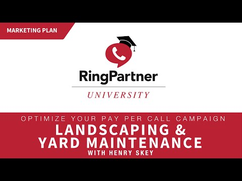 Marketing Plan: Landscaping & Yard Maintenance