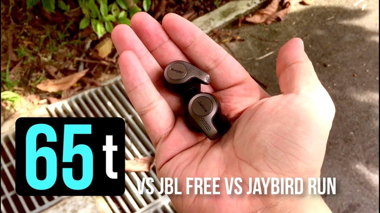Jabra Elite 65t Vs Jbl Free Vs Jaybird Run Unboxing And Review Youtube