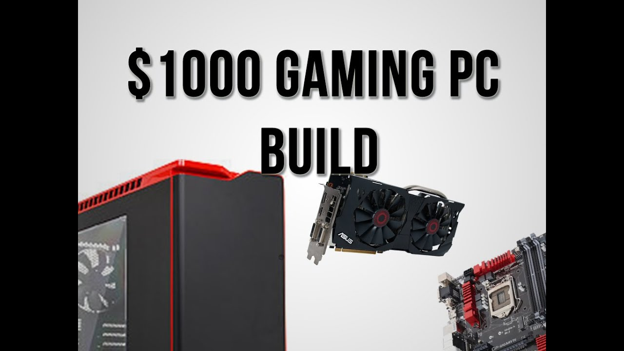 how to build a gaming desktop 2015