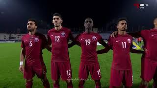 النشيد الوطني | العراق × قطر | كأس الخليج 23