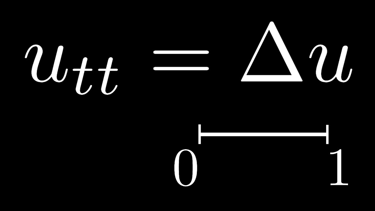 Solving the Wave Equation in 1D by Fourier Series