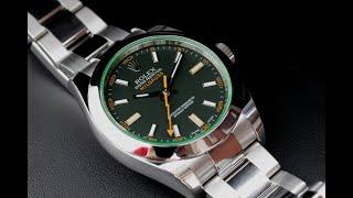 Rolex 116400 로렉스 그린 밀가우스 구백만원 …