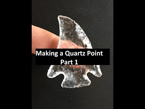 Quartz Crystal Hopewell Point, Part 1 of 2