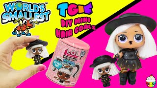 TGIF Show DIY World's Smallest LOL Hair Goals Witchay Babay Cupcake Kids Club