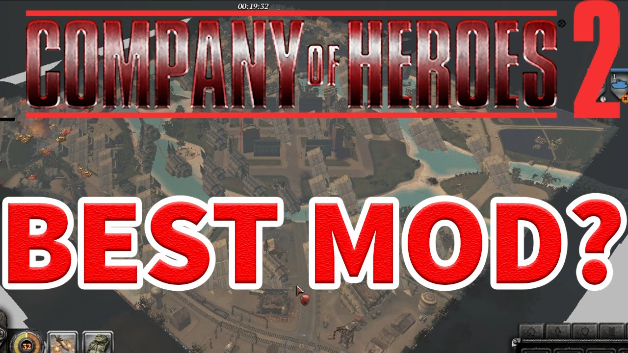 The Best Mod On Company Of Heroes 2 Youtube