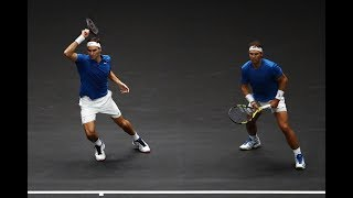 Federer/Nadal vs Sock/Querrey - Laver Cup Highlights HD