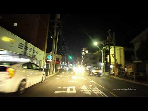 Night Drive at Amami City, Naze 2017/11/09