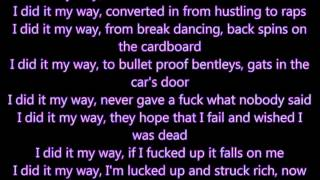 Nas- My Way (with lyrics)
