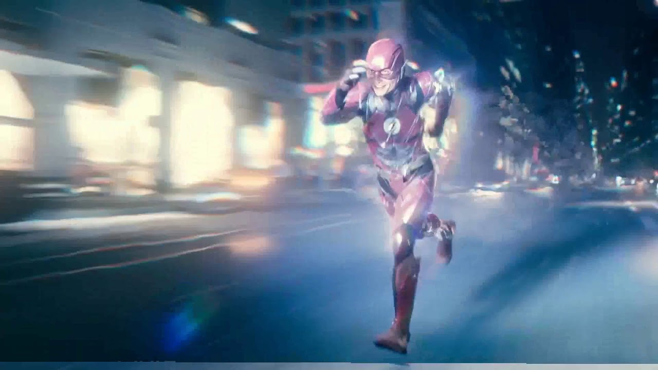 The Flash: Running form (Justice League film)
