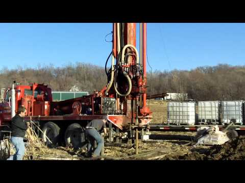 Versa-Drill V-100 Drilling Domestic House Well