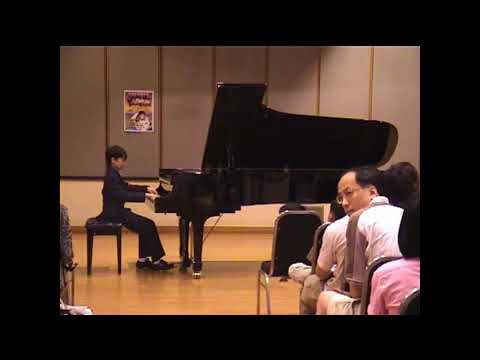 《Mozart Smata KV330 1st Movt 11歲鋼琴神童開SHOW出碟》何躍龍 香港文化中心個人演奏及CD發佈會