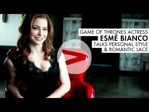 Esme Bianco from Game of Thrones  Fashion