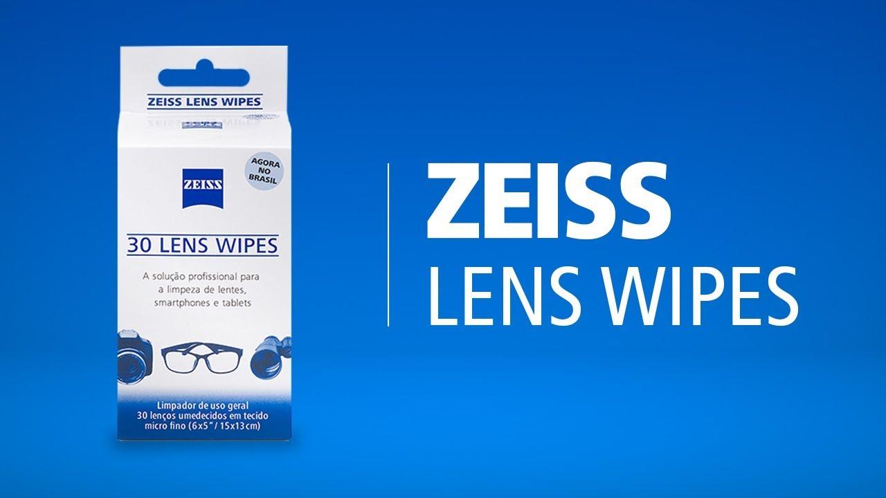 92b9d33e1c214 ZEISS Lens Wipes - A melhor forma de limpar suas lentes - YouTube