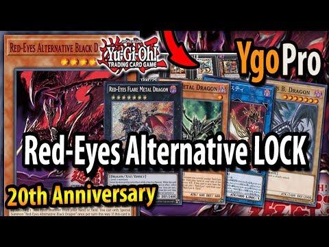 Red-Eyes Alternative ON GUARD - New LOCKDOWN YGOPRO