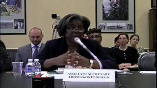 Budget Hearing - United States Assistance in Africa (SFOPS Subcommittee)