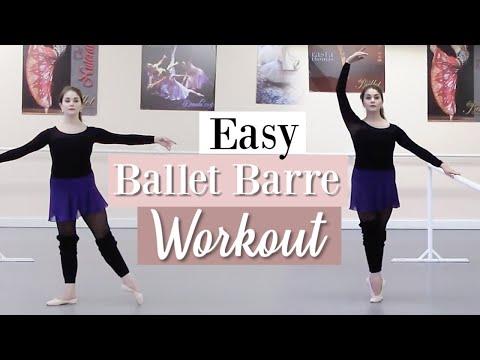 Easy Ballet Barre Workout | Kathryn Morgan