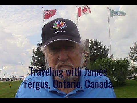Traveling with James Fergus, Ontario, Canada
