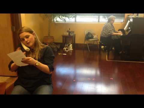 """""""Three Decembers"""" Rehearsal - First Christmas Letter - Part 3"""