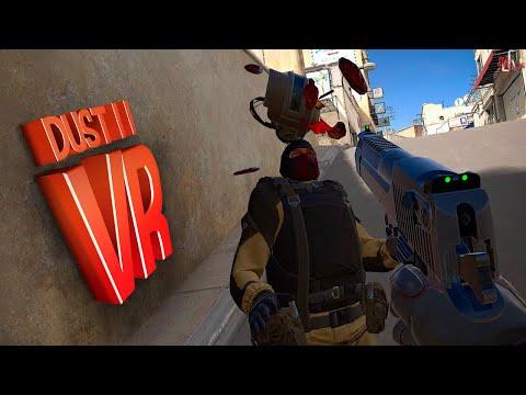 DUST 2 в VR ( Pavlov VR / Half Life Alyx )