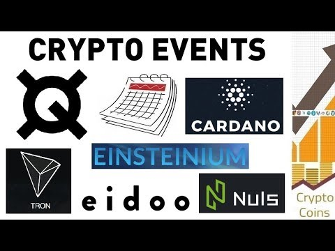 Upcoming Cryptocurrency Events (16th to 23rd of March) - Looking for Good Investments and Pumps