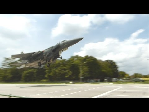 Road runway: RSAF Exercise Torrent 2016